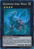 Yu-Gi-Oh! - Diamond Dire Wolf (CT10-EN012) - 2013 Collectors Tins - Limited Edition - Super Rare