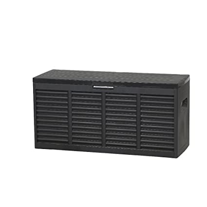H.G.NN 12001226 Storage Box 119 x 45.2 x 57.7 cm Black