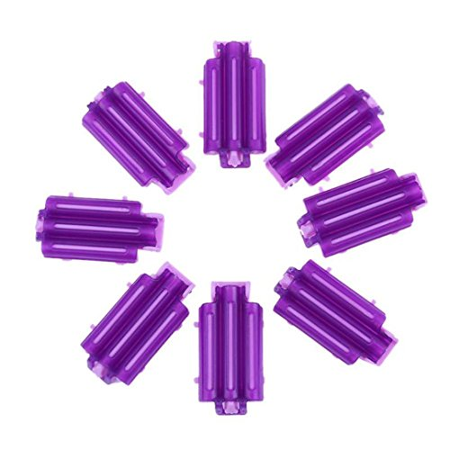 36Pcs/Bag Hair Clip Wave Perm Rod Bars DIY Roots Preming Fluffy ing Styling Tool show by HAHUHERT (Image #6)