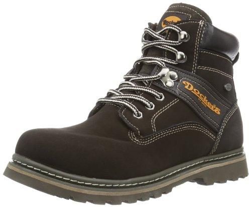 Dockers by Gerli 277540-129010 Unisex-Kinder Desert Boots Braun (Chocolate)
