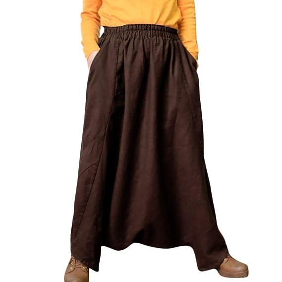 LiucheHD-Donna Baggy Harem Pants Casual Danza Hip Hop Pantaloni da Donna  Smocked Waist Boho Spiaggia Harem Pants  Amazon.it  Abbigliamento 644aea82e4ca
