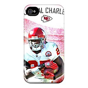 Scratch Protection Hard Phone Covers For Iphone 6 (QJN3921ZILE) Customized Nice Kansas City Chiefs Image