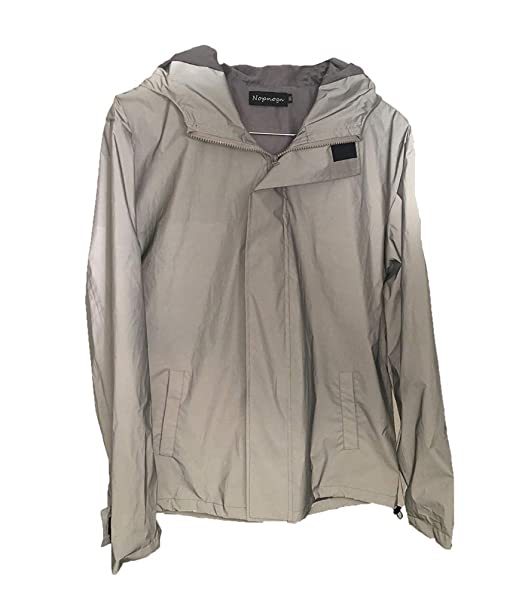 Da Riflettente Street Uomo Giacca Luminosa Flash Style In Outwear n8PNk0OXw