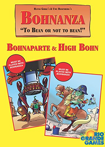 Bohnanza: High Bohn Plus Bohnaparte Card Game Bohnanza Rio Grande Games