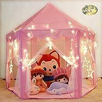 Wilhunter Kids Princess Castle Tent Children Play Tent...