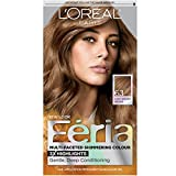 L'Oreal Paris Feria Multi-Faceted Shimmering Color, Light Golden Brown [63] 1 ea (Pack of 3)