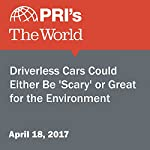 Driverless Cars Could Either Be 'Scary' or Great for the Environment | Carolyn Beeler