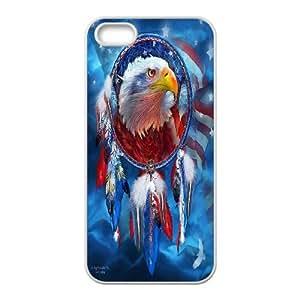 [Tony-Wilson Phone Case] For Apple Iphone 5 5S -IKAI0447847-Cute Eagles