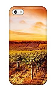 Captivating Vineyard Earth Nature Other Flip Case With Fashion Design Case For Ipod Touch 4 Cover