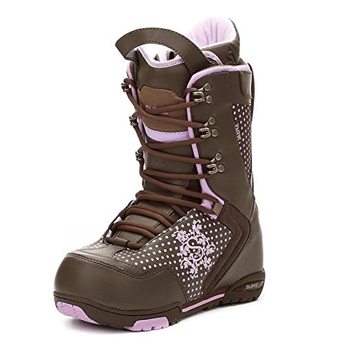 Silence Metric Womens Snowboard Boots Espresso Brn Sizes 9 (9 Size Boots Snowboard)