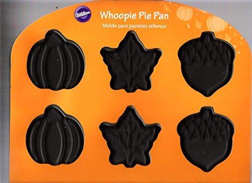Fall Whoopie Pie Pan 12 Cavities By Wilton (Pumpkins, Leaves, Acorns)