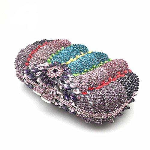 Sac Creux Onecolor Des Soirée Femmes à D'embrayage Diamants Main 5vwqAqI8x
