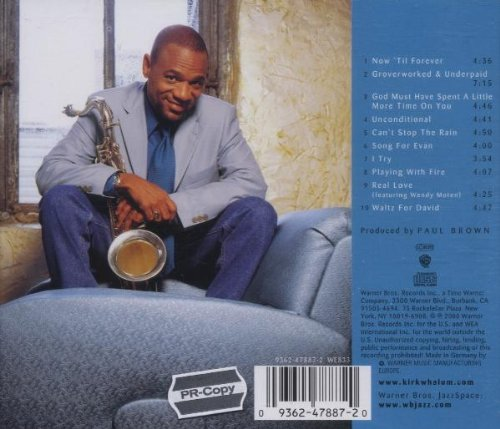kirk whalum unconditional album