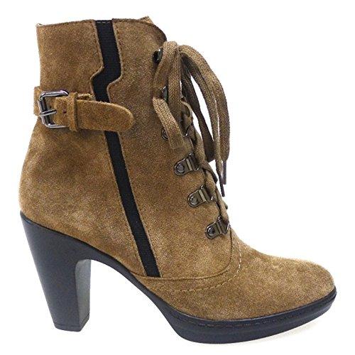 Zapatos Mujer Botas Botines Cafenoir Hv603 Arena: Amazon.es ...