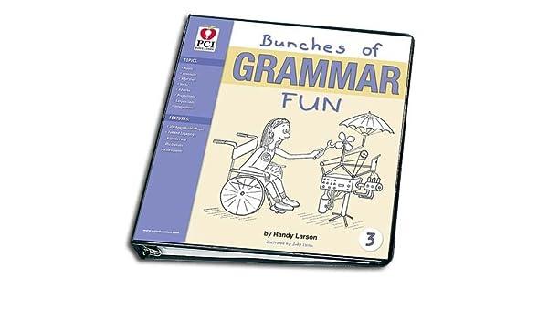 Workbook adverb of manner worksheets : BUNCHES OF GRAMMAR FUN BINDER 3: Randy Larson: 0749844006976 ...