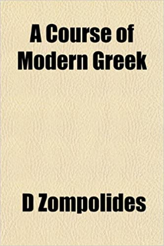 A Course of Modern Greek