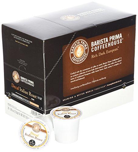 Barista Prima Decaf Coffee, Italian Roast, Rich. Dark. European., 24- Count K-Cup by Barista Prima (Image #2)