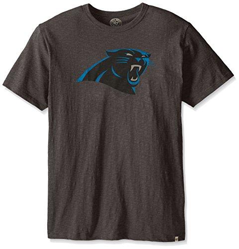 Carolina Panthers T-shirt - NFL Carolina Panthers Men's Scrum Tee, Charcoal, Large