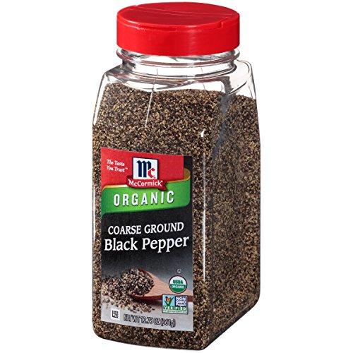 (McCormick Organic Coarse Ground Black Pepper, 12.75 oz)