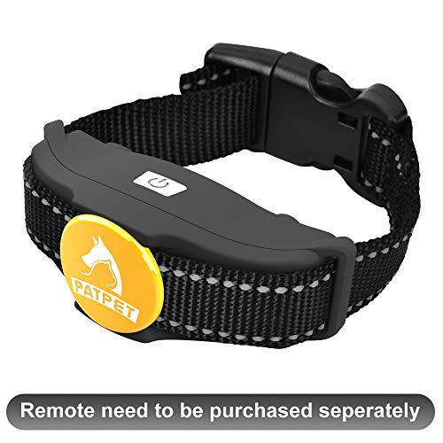 Patpet Dog Training Collar Receiver - 100% Waterproof & Rechargeable Dog Training E Collar Receiver for 2 Dogs with Beep/Vibration/Static Shock Mode for Small, Medium & Large Dog, 1000 Ft Range