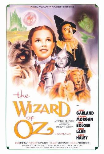 Pop Culture Graphics Wizard of Oz Movie Poster