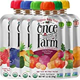 Once Upon a Farm Organic Stage 2 & 3   Baby Food