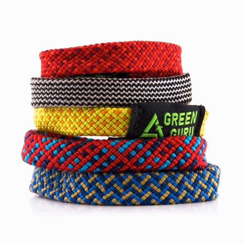 Grün Armband Guru Kletterseil, mittel Green Guru Gear G4203