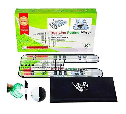- Premium Golf Putting Mirror | All in One Portable Training Aids to Improve Your Alignment, Putting Setup Position, The Putter Face Angle at Impact, Starting Line and The Golf Swing Path Direction