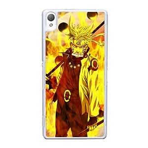 Sony Xperia Z3 Cell Phone Case White Naruto Uzumaki AS7YD3583613