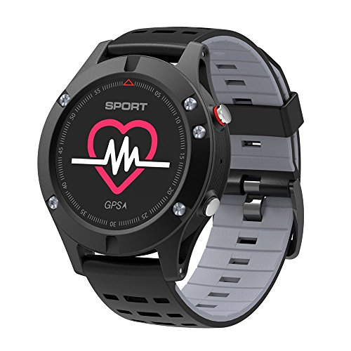 Heart Rate Monitor GPS Multi-Sport Mode OLED Altimeter Bluet