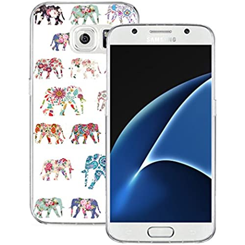 S7 Case MURQ Apple Samsung Galaxy S7 Case Cover Silicone Rubber Protective Elephant Animal Design Sales