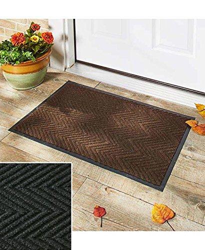 Indoor/Outdoor Utility Black Mat