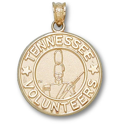 University of Tennessee Volunteer Seal Pendant (Gold Plated)