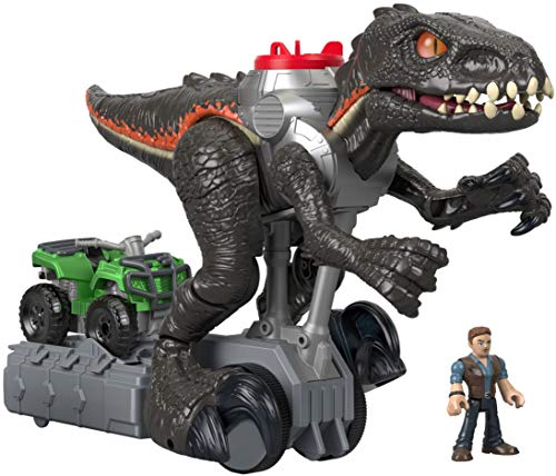 Imaginext Walking (and car chasing!) Indoraptor