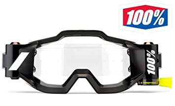 100/% Forecast Roll Off Film System for Racecraft Accuri Strata Motocross Goggles