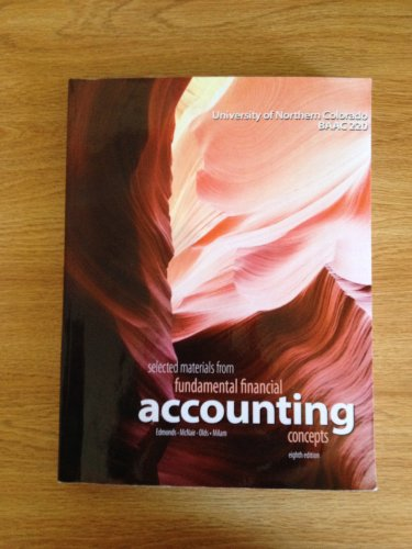 Selected Materials From Fundamental Financial Accounting Concepts