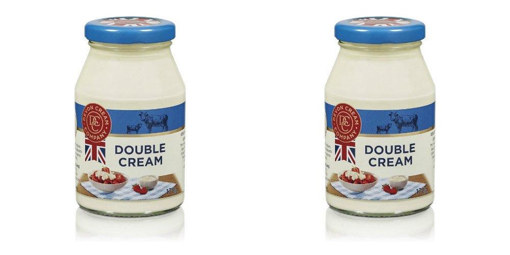 The Devon Cream Company Clotted Cream 170g (Pack of 2) by Devon Cream Company