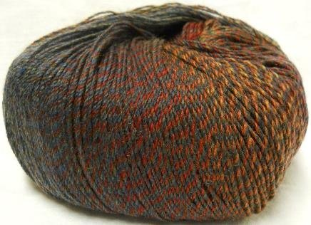 Knitting Fever Painted Desert Superwash Yarn Self Striping Fingering Weight Color 6 Camp Fire - Fingering Weight