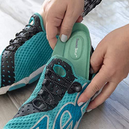 9ec756e9e03 SmartSole Exercise Insoles for Plantar Fasciitis, Flat Feet and Shin  Splints Relief. Anti Fatigue Walking,...