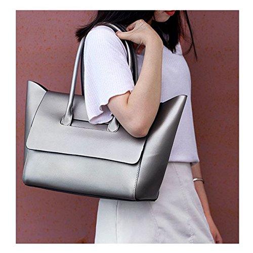 Cobre bolso de señoras manera las de la Color del las bolso SANSJI Crossbody del Bolso grande del señoras grande Bolso de de AH61zwtq