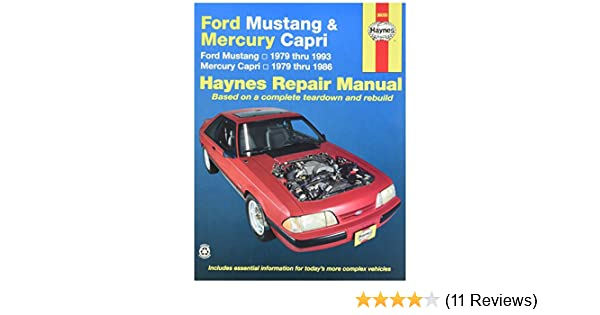 Haynes ford mustang 79 93 mercury capri 79 86 0038345006548 haynes ford mustang 79 93 mercury capri 79 86 0038345006548 amazon books fandeluxe Image collections