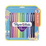 #9: Paper Mate Flair Felt Tip Pens, Medium Point (0.7mm), Tropical & Classic Colors, 12 Count