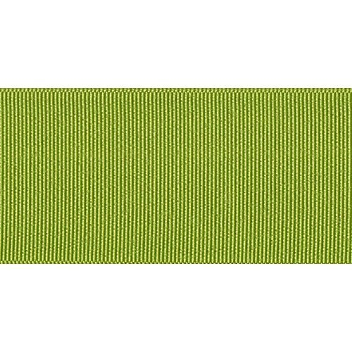 Offray Grosgrain Craft Ribbon, 1 1/2-Inch x 12-Feet, Lemon Grass