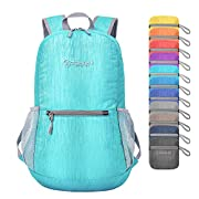 ZOMAKE Ultra Lightweight Packable Backpack Small Hiking Daypack -2020 Version-
