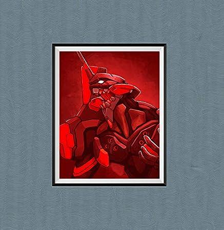 20,3 x 25,4 cm senza cornice Attack Titan Mikasa Eren Jeager Poster da parete per la decorazione della casa