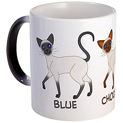 CafePress - Three Siamese Cats - Unique Coffee Mug, Coffee Cup - Seal Point Siamese Cats