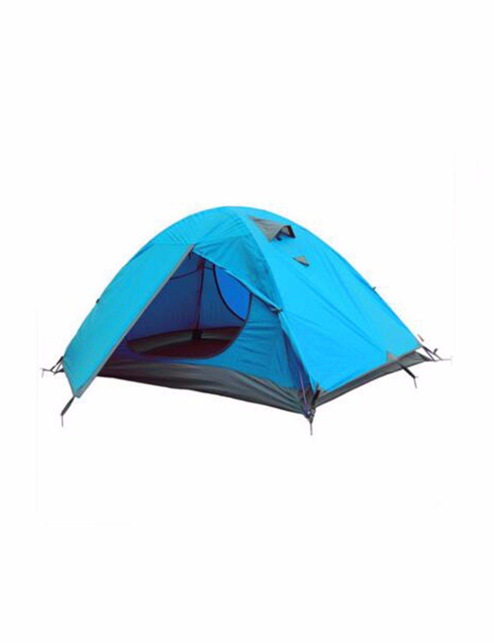 SJQKA-Zelt Outdoor Doppel Anti-Rainstorm Wandern Camping Zelt