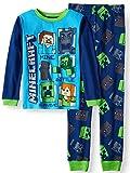 Minecraft Boys Kids Children Toddler 2-Piece Thermal Pajama Sleep Set