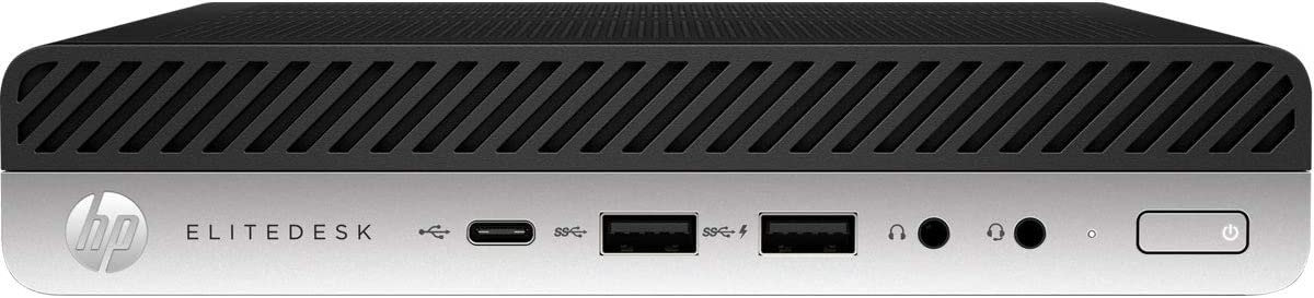 HP EliteDesk 705 G5 Desktop Computer AMD Ryzen 3 PRO 8GB RAM 256GB SSD - AMD Ryzen 3 PRO 3200GE Quad-core - Desktop Mini Form Factor - AMD Radeon Vega 8 Graphics - USB Business Slim Keyboard & Mou