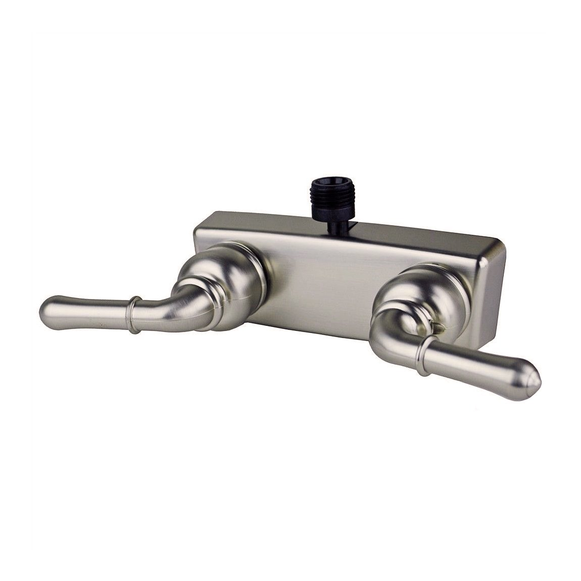 RV / Mobile Motor Home Shower 4' Shower Faucet, Brushed Nickel HowPlumb